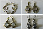Hippy Boho Dangly Earrings Ethnic Indian Spiritual Semi Precious Stones Pretty