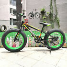 20 inch Fat Tyre Snow Bike Cycle Off Road Dirt Beach Bicycle Double Disc Brake