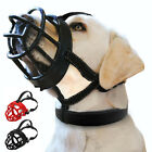 Didog Rubber Dog Muzzle Pet Basket Cage Adjustable for Small Medium Large Dogs
