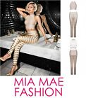 NEW CELEB HALTER NECK HIGH END TWO PIECE BANDAGE TOP AND BANDAGE PANTS TROUSERS