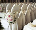 Внешний вид - Polyester Banquet Chair Covers Wedding Reception Party Decorations 3 Colors!
