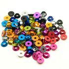 10PCS Alloy Aluminium  M3 3mm Countersunk Washer Multi color