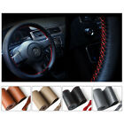 36cm /14'' DIY Car Auto Steering Wheel Cover Leather Non-Slip w/ Needle Thread $6.62 USD on eBay