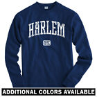 Harlem NYC Long Sleeve T-shirt - LS Men S-4X - Gift 125th Street Apollo A$AP 212