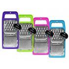 Flat Grater Cheese Food Vegetable Home Kitchen Cookware for Grating In 4 Colours