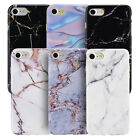 Luxury Marble Design Pattern Soft TPU Phone Case Cover for Apple iPhone...