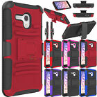 For Alcatel One Touch Fierce XL Slim Armor Defender Case Cover Holster Stand