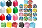 12 CHILDRENS PARTY LUNCH BOXES TAKEAWAY BIRTHDAY WEDDING FOOD BAG MEAL CHRISTMAS