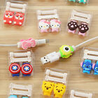 Cartoon USB Cable Protector Cover Case Fo Iphone android Charge Cable winder