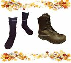 AUTUMN DEAL - HAIX BROWN BOOTS & BLACK WOOL SOCKS - GRADE 1