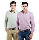 LNY Mens Cotton Casual Shirt -111079 (Pack of 2)