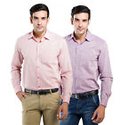 LNY Mens Cotton Casual Shirt -111092 (Pack of 2)