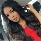 """12""""-22""""Body Wave 100% Brazilian Virgin Human Hair Lace Wigs Full Lace/Lace Front"""