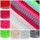 10yards 10mm Width Pom Pom Trim Ball Fringe Ribbon DIY Sewing Accessory Lace