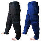 """Cargo Work Wear Trousers Pants Combat Cargo Waist 28"""" to 62"""" With 5 Leg Lengths"""
