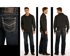Rock & Roll Cowboy Men's Double Barrel Relaxed Fit Straight Leg Jeans M0S9482