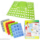 Adult or Kids Dress Shirt Clothes Flip & Fold Laundry Folder Board Organizer