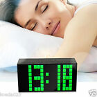 New Red Led Alarm Clock Digital Kitchen Wall Table Watch Snooze Thermometer Date