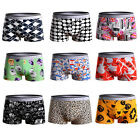 Men's Underwear Boxer Briefs Bulge Pouch Trunks Shorts Underpants Pants