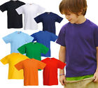 Fruit of the Loom - Kinder T-Shirt Valueweight - 92 98 104 116 128 140 152 164