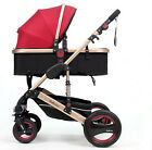 Luxury Baby Stroller Pushchairs Four Wheels Travel Folding Baby Carriage Pram 99