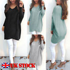 Womens Oversize Pullover Ladies Loose Casual Sweater Blouse Shirt Jumper Tops