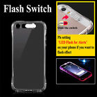 LED Flash Light Up Incoming Call Remind TPU Phone Case Cover For iPhone 7 Plus