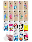 Supreme Protector Film Cartoon Transparent Rubber Gel Cover Case For iPhone