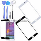 Replacement Front Outer Screen Glass Lens Kit + Repair Tools for Samsung Note 4