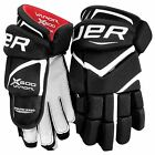 "Bauer Vapor X600 Ice/Roller Hockey gloves BNWT 13"" or 14"" Black/White"