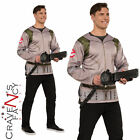 Mens Ghostbusters Shirt & Proton Pack Halloween Fancy Dress Costume Adult Outfit