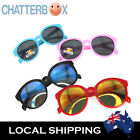 G&G Kids Fashion Colorful Round Sunglasses Vintage Boys Girls + free carry case