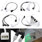 Female 4 Pin Flexible Connector Extension Cable For RGB 3528 5050 LED Strip NEW