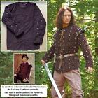 Robin of Locksley Brown Padded Shirt - Perfect For Re-enactment Costume, & LARP