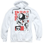 BETTY BOOP STYLIN SNAPS Pullover Hooded Sweatshirt Hoodie SM-3XL $42.32 USD