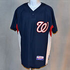 MAJESTIC Cool Base Pullover Jersey Washington Nationals MLB Authentic Coll M/XL