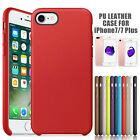 Luxury Ultra-Thin Genuine PU Leather Soft Case Cover For Apple iPhone 7 Plus USA