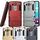 for LG V10 case cover w/ kickstand blue silver gold gray red pink shockproof