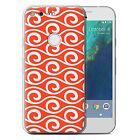 "STUFF4 Gel/TPU Case/Cover for Google Pixel XL (5.5"")/Chic Wave Pattern"