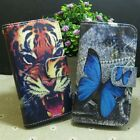 Cool Tiger Butterfly Wallet Stand flip case cover for Nokia Microsoft Phone