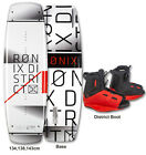 RONIX DISTRICT WAKEBOARD w/DISTRICT BOOT PACKAGE