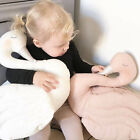 Cotton INS Princess Swan Plush Pillow Cushion Baby Soft Stuffed Animals Toys