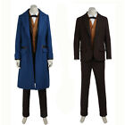 Fantastic Beasts and Where to Find Them Newton Costume Cosplay Costume
