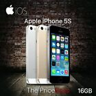 """Apple iPhone 5S/4S 16-64GB/8GB GSM """"Factory Unlocked"""" Smartphone Gold Gray Silve"""