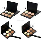 6 Colors Contour Concealer Face Cream Makeup Palette With Brush Long Lasting
