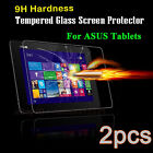 2PCS Tempered Glass Screen Protector Film Protection Guard Cover For ASUS Tablet