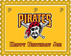 Pittsburgh Pirates - Edible Cake Topper OR Cupcake Topper, Decor on Ebay