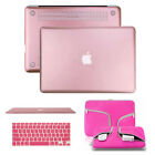 Hard Case Shell Sleeve Protector Carry Bag Keyboard Cover for Macbook 11/13/15''