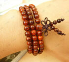 Bracelet Salable product quality lobular red sandalwood 108pcs Prayer Beads