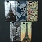 Eiffel Tower Skull Hard Back Case Cover For Sony Xperia miro ST23i ST23a